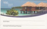 GREECE - SPG Member Card, Unused - Hotel Keycards