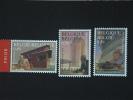 België Belgique 2003 Oeuvres De Henry Van De Velde Architecte Ontwerpen Cob 3146-3148 Yv 3199-3141 MNH ** - Belgique