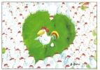 CPM Carte Postale Poétique Helme Heine 14,8 X 10,5 Cm - Zum Verlieben / Coq Poule Oeuf - Non Classés