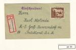 DR Interesanter Satz-Brief Aus Pleß Oberschlesien Ohne Ankunftstempel (ab25) - Allemagne