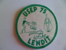 Lendit  Ecusson Tissu U S E P 75 - Unclassified