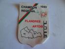 FLANDRES ARTOIS 62 59 1980   ECUSSON EN TISSU - Unclassified