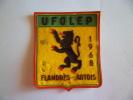 FLANDRES ARTOIS  1968 U F O L E P EN L ETAT  ECUSSON EN TISSU - Unclassified