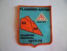 FLANDRES ARTOIS 62 59 1977 1978   ECUSSON EN TISSU - Unclassified