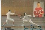 SPORT - FECHTEN - Fencing - Ulrich Schreck, Autogrammkarte, Weltmeister, Silber Olympia Seoul - Schermen