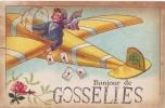 GOSSELIES = Bonjour De..... - Carte Couleur (1926) - België