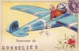 GOSSELIES = Souvenir De..... - Carte Couleur (écrite) - België