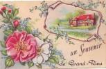 GRAND RIEU =  Un Souvenir De.... - Carte Couleur (vierge) - België