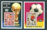 Haute-Volta:  BF 5U/ 5V **  Munich 74 - Coppa Del Mondo