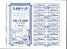 Action - Afrique - Gabon - Niari - Juillet 1936 - Action De 100 Francs - Scene De Travail, Engin De Chantier - Afrique
