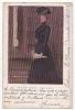 España Tarjeta Postal Blanco Y Negro Artist Drawn Woman POSTCARD Ca1900 Cpa AK (W3-0030) - Ilustradores & Fotógrafos