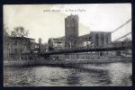 Agde - Le Pont Et L'Eglise - Tache - Dos écrit - - Agde