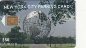 USA - New York City Parking Card $50, Municipality Of New York, Used - Andere Sammlungen
