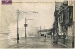 Postal BOLOGNE Sur MER (Pas De Calais). Route De Wimeroux Et Inundation - Boulogne Sur Mer