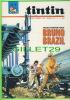 BD - TINTIN HEBDOMADAIRE - No 24, 23e ANNÉE, 1968 - 52 PAGES - TRAIN D'ENFER PÔUR BRUNO BRAZIL - - Tintin