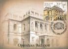 HUNGARY - 1984.Maximum Card Sheet - Budapest Opera House,Centenary(Building) Mi:Bl.173 - Architecture