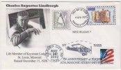 Lindbergh, Aeroplane, Flight, Aviation, Combined Trinidad & Tobago And USA Masonic Cover, Freemasonry - Franc-Maçonnerie