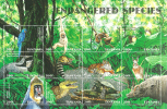 Tanzania 1998 - ( Fauna - Animals ) - Sheet Of 12 - MNH (**) - Tanzania (1964-...)