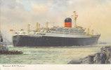 """RMS """"Ivernia (II)"""" Der Cunard Line,  Baujahr 1955,  Um 1955 - Dampfer"""