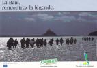 La Baie Du Mont-Saint-Michel - Carte éditée Par Le Syndicat Du Tourisme De La Manche. - France