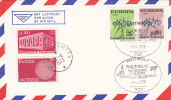 BRD 716-77 MiF CEPT Auf Brief Mit Sonderstempel: Rottweil - Im Dienste Europas 8.4.1973, + 2 Franz. CEPT-Marken - BRD