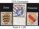 Germania-F224 - Franse Zone