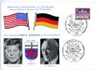 West-Berlin, John F. Kennedy - Dr. Conrad Adenauer_2, Sonderstempel BONN, 23.6.1963 - Ereignisse