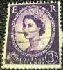 Great Britain 1952 Queen Elizabeth II 3d - Used - 1952-.... (Elizabeth II)