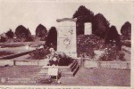 MONCEAU S/SAMBRE = Monument Yvonne Vieslet (Nels) Vierge - Belgique