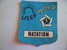 ECUSSON EN TISSU  U S E P NORD NATATION - Patches