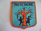 PAS D CALAIS  ECUSSON EN TISSU - Unclassified