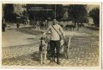 SWITZERLAND 1927 Lausanne Garcon Laitier Et Son Chien Postcard - Schweiz