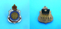 RETURNED SAILORS SOLDIERS .. IMPERIAL LEAGUE OF AUSTRALIA Numbered Enameled Badge WW1-WW2 Army Military Pin Anstecknadel - 1939-45