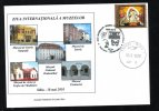 International Museum Day,MUSEUM OF NATURAL HISTORY,BUTTERFLY,2010 SPECIAL COVER OBLIT.CONCORDANTE SIBIU ROMANIA. - Museums