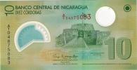 Nicaragua 10 Cordobas 2007. (2009) UNC Polymer - Nicaragua