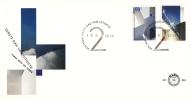 E294 - 150 Jaar Bond Architecten BNA, Nieuwbouw Tweede Kamer  (1992) - NVPH 1525 - 1526 - FDC