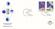 E284 - Europa, Ruimte (1991) - NVPH 1475 - 1476 - FDC