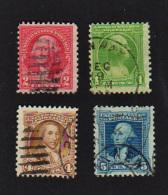 B429 U.S.A.  1932 ( 4 Stamps )   ( Sc# 705,707,709,710 )   CH - United States