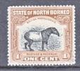 North Borneo  136  Perf 14  *  FAUNA - North Borneo (...-1963)