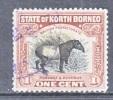 North Borneo  167   Perf 12 1/2   (o)  FAUNA - North Borneo (...-1963)