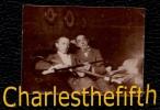 PRE 1900 !! PETITE PHOTO HOMMES AVEC GRANDE PIPE EN ECUME OU TERRE CUITE - 5 X 3.8cm - Anciennes (Av. 1900)