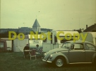 PHOTO VW Cox Volkswagen Coccinelle 1300 1966 Camping Caravane 1967 - Reproductions