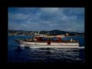 """06 - GOLF-JUAN - JUAN-LES-PINS - Départ Pour La Corniche D'Or à Bord De La Vedette """"Cap D'Antibes"""" - Vallauris"""