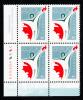Canada MNH Scott #1835 Lower Left Plate Block 46c Canada Millenium Partnership Program - Num. Planches & Inscriptions Marge