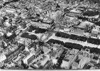 CPSM 63 CLERMONT FERRAND VUE AERIENNE DE LA PLACE DE JAUDE 1956 - Clermont Ferrand
