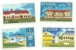 1972 - St. Lucia 314/17 Scuole, - America Centrale