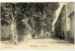 Carte Postale Ancienne Entrechaux - La Traversée - France