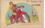 LA PANNE = Un Bonjour De ..... - Carte Couleur  (écrite) - De Panne