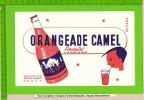BUVARD: Orangeade CAMEL  Se separant du sucre