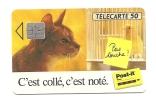 Télécarte Post It F321A 50 Unités  SO4 Côte 35 Euros  Chat  Canari (titi Et Gros Minet) - 1993